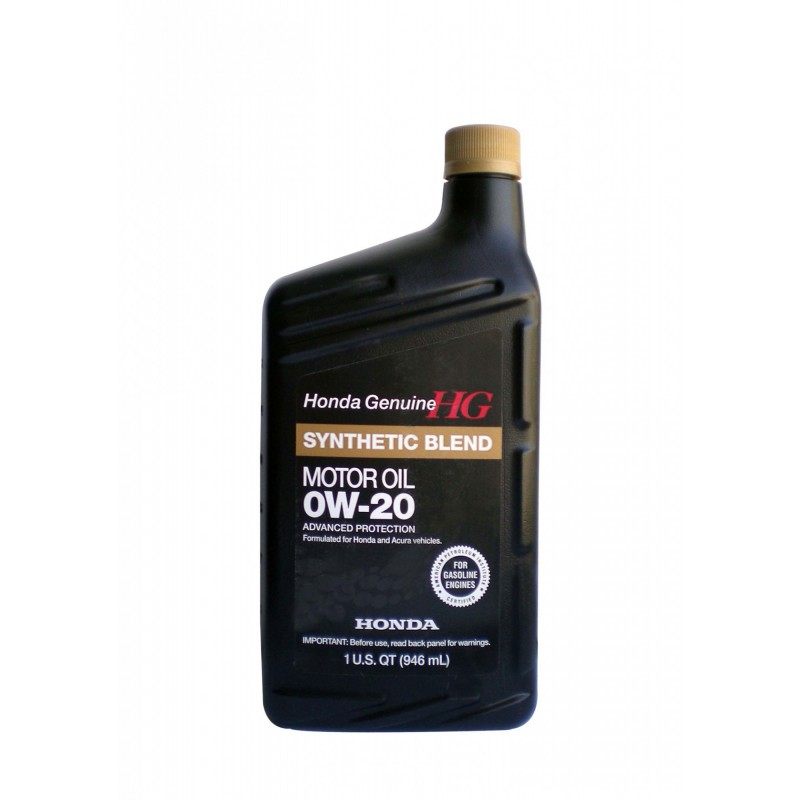 HONDA Моторное масло Полусинтетическое Synthetic Blend Sae 0w-20 Sn Semi-Syntetic Usa 946